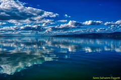 lakeHDR (Santo Salvatore Foggetti) Tags: lago lake trasimeno umbria perugia passignano magione sanfeliciano polvese nuvole cielo sky cloud foggetti sony sonya7 sonyilce7 riflessi reflection