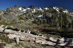the Black Buttes (SILBECL) Tags: landscape mountain lake grouseridge fivelakesbasin glacierlake california sierra hike absolutelystunningscapes