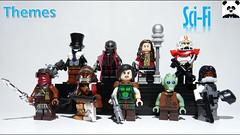 Sci-Fi Figbarf Two (Random_Panda) Tags: lego figs fig figures figure minifigs minifig minifigures minifigure purist purists character characters scifi figbarf sci fi science fiction fantasy