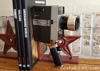 Argus M-4 Zoom 8mm Movie Camera