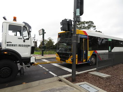 Bus Recovery (08/06/2018) (RS 1990) Tags: bus recovery vehicle mercedesbenz daimlerbenz doubleended busway tunnel grenfellst adelaide southaustralia friday 8th june 2018
