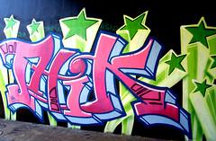 graffiti in Amsterdam (wojofoto) Tags: amsterdam nederland netherland holland graffiti streetart wojofoto wolfgangjosten amsterdamsebrug flevopark hof halloffame thik