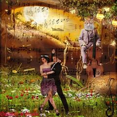 """GOOD MUSIC FESTIVAL ( BONNE FÊTE DE LA MUSIQUE) (christabelle12300 et pitchounet (peu présent)) Tags: expression pitchounet couple danseusecancan """"exoticimage"""" awardtree artcityartists worldclassphoto"""