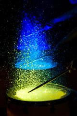 Drumming Some Colour (SemiXposed) Tags: drums bali celebration color colour water splash bokeh hands stick