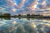 Tooradin Inlet at Sunrise (Thunder1203) Tags: aurorahdr boatsinlet sunrise topazlabs toradin calm harbour hdr luminar peaceful serene skylum trasnquil westgippsland tooradin victoria australia au clouds reflection