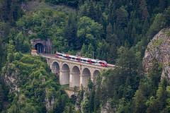 OBB Talent, Krausel Klause viaduct (josip_petrlic) Tags: railways obb semmeringbahn semmering dampflok ellok siemens taurus vectron nostalgie fest eisenbahn željeznice železnice