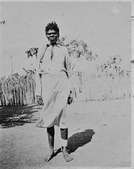 Aboriginal woman - 1920s (Aussie~mobs) Tags: margeduggre woman aborigine native vintage indigenous 1920s methodistinlandmission milingimbiisland pipe smoking female northqueensland australia aussiemobs