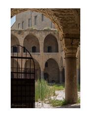 Khan al-Umdan (inside) (cadadiamaslejos) Tags: urbex history abandoned explore acre israel