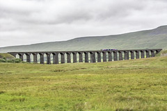 Ribblehead Viaduct (Have Cam Will Travel.) Tags: yorkshire viaduct ribbleheadviaduct railway transport landscapes trains