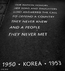Korean War Veterans Memorial, Washington, D.C. (georgechamoun1984) Tags: koreanwarveteransmemorial washingtondc usa america unitedstates districtofcolumbia dc washington nationalmall