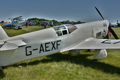 Mew Gull Racer (Bri_J) Tags: shuttlewortheveningairshow2018 shuttleworthcollection oldwarden airfield bedfordshire uk airshow nikon d7200 mewgull racer aircraft hdr
