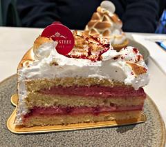 2018 Sydney: Raspberry Meringue (dominotic) Tags: 2018 food dessert afternoontea cake raspberrymeringue iphone8 sydney australia