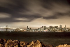 A Treasured Bay (david.ives) Tags: san francisco california bay treasure island bridge transamerica tower skyline