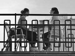 girlstalk (Der Kremser) Tags: wien vienna mai may 2018 leben life street streetlife strase donaukanal sonntag sunday menschen people österreich austria europa europe eu entspannung freizeit relax chilling frauen woman women frau kaffee gespräch talk friends freundinnen urania