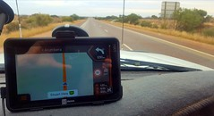 Just 1210km to go before our Hema HX-1 device needs to give another instruction; how to drive in to Alice Springs