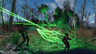 Fallout4 - PlasRail meets King Kontant