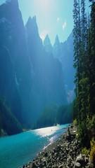 #A93 Moraine Lake (briolette001) Tags: morainelake glacierlake banff banffnationalpark canadianrockymountain mountains alberta albertacanada