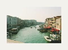 """""""Ma resti bella e triste come il paesaggio a Venezia"""" (White'z not a photographer) Tags: venice venezia italy italia canals colours october autumn boats"""