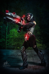 Fotocon 2017: Germia as Headhunter Caitlyn from League of Legends, by SpirosK photography (composite) (SpirosK photography) Tags: fotocon2017 germia headhuntercaitlyn caitlyn lol game videogame videogamecharacter fotoconbytechland fotoconbytechland2017 portrait leagueoflegends biggun gun rifle spiroskphotography girlwithgun