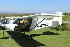 G-NOTS (GH@BHD) Tags: gnots bestoff bestoffskyranger skyranger skyranger912s pophammicrolighttradefair2018 pophamairfield popham microlight aircraft aviation