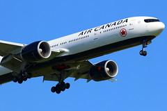 Air Canada Boeing 777-333(ER) C-FIVW (Manuel Negrerie) Tags: air canada boeing 777333er cfivw ac spotting airliner jetliner longhaul cdg flying closeup livery scheme maple aircanada plane travel transport design