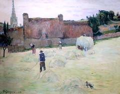 IMG_9081 Paul Gauguin. 1848-1903. Paris Tahiti.  La fenaison en Bretagne. Haymaking in Brittany. 1888  Paris Orsay. (jean louis mazieres) Tags: peintres peintures painting musée museum museo france parisorsay paulgauguin