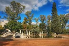Independence Park, Rosario. (Camila Giadans) Tags: rosario argentina park parque independencia bridge puente reflejo