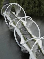 Bridge Concept Sculpted for the 2022 Beijing Winter Olympics (Архитектурный Журнал) Tags: 2022 beijing bridge concept for olympics sculpted winter