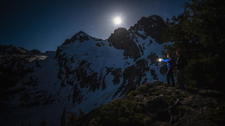 Sawtooth Lake Night Hike 9