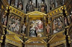 Astorga (León-España). Catedral. Retablo Mayor de 1584, obra de Gaspar Becerra. Cuerpo superior (santi abella) Tags: astorga león castillayleón españa catedraldeastorga retablos