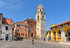 sirolo (poludziber1) Tags: street skyline summer sirolo city colorful color italia italy cityscape blue urban travel marche