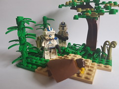 Rise of an Empire (影Shadow98) Tags: lego star wars clone trooper 501st vaders fist jedi order 66