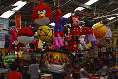 Piñatas (Evelio AD) Tags: piñata mex cdmx méxico red colors gente negocio trabajo mercado iztapalapa