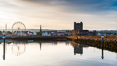 (Anton Deluxe) Tags: carrickfergus castle amusements water sunset canon carrick northernireland