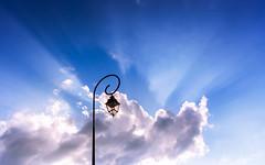 Communion Of Lights (R06b) [Explored 2018.06.08] (Darblanc ( http://darblanc.com )) Tags: france franchecomté hautesaone vantouxetlongevelle canoneos7d countryside nature darblanc darblancphotography photography xavdarblanc xavdarblancphotography photo coloursshapesandmoods spring colour monochrome daytime sunset artphoto minimalism clear clouds landscape