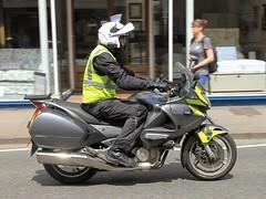 Honda NT700V Deauville. (BIKEPILOT, Thx for + 4,000,000 views) Tags: honda nt700v deauville motorcycle rider motorbike bike farnham surrey uk england britain farnhamfestivaloftransport motion biking
