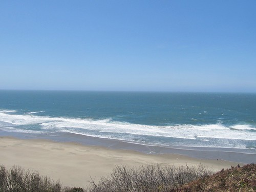 Pacific Ocean view from Sutro Heights Park