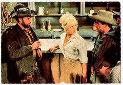 Elke Sommer in Unter Geiern (1964) (Truus, Bob & Jan too!) Tags: elkesommer elke sommer german actress untergeiern 1964 karlmay karl may actor european filmstar western eurowestern cinema cine kino film movie movies picture screen star filmster vintage postcard postkarte carte postale cartolina tarjet postal postkaart briefkarte briefkaart ansichtskarte ansichtkaart constantin saloon cowboy