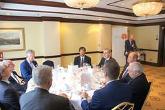 07-06-2018 Exclusive Luncheon with Secretary of State Pieter De Crem - DSC08942