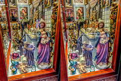 Religious iconography 3D (Immagini 2&3D) Tags: barcelona catalunya spain 3d stereophotography stereoscopy