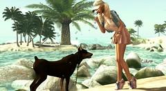 With my best friend (ღ ღ LuLu ღ ღ) Tags: akeruka maia bento head maitreya slackgirl musthave swallow shape ears ison truth secondlife realevil gabriel ikon promagic glitzz veechi noir nocabide summer doberman dog poz