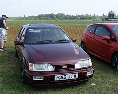 Ford Sierra Sapphire RS Cosworth 1991 (N57KM22) Tags: h215jtw ford sierra sapphire rs cosworth 1991