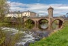 Monnow Bridge, Monmouth, Wales. UK (staneastwood - 2 mil views - Thank you all.) Tags: monmouth wales unitedkingdom gb staneastwood stanleyeastwood bridge monnow water river riverbank weir building architecture