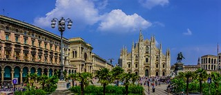Piazza del Duomo , Milan