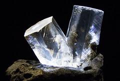 Crystals (Ellsasha) Tags: minerals crystals transparency houstonmuseumofnaturalscience museums collections