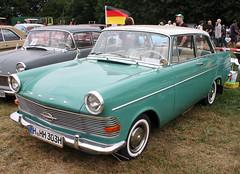Rekord P2 (Schwanzus_Longus) Tags: asendorf german germany old classic vintage car vehicle sedan saloon gm general motors opel rekord p2