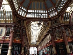 Leadenhall Market is decidedly photogenic! (photo by Valerie Schreiner)