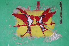 Erudiorf_8543 rue de Tolbiac Paris 13 (meuh1246) Tags: streetart paris paris13 erudiorf ruedetolbiac animaux oiseau