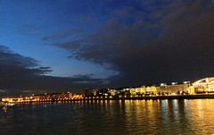 IMAG0378 (Laszlo8360) Tags: budapest danube theater bridge river night
