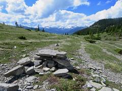 Happy Bench Monday! (benlarhome) Tags: alberta canada powderface powderfaceridge braggcreek hike hiking trek trekking rockies rockymountain mountain kananaskis